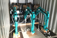 Descarga mini kobelco 12