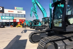 Descarga mini kobelco 4
