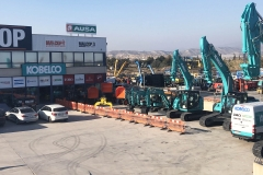 Descarga mini kobelco 7