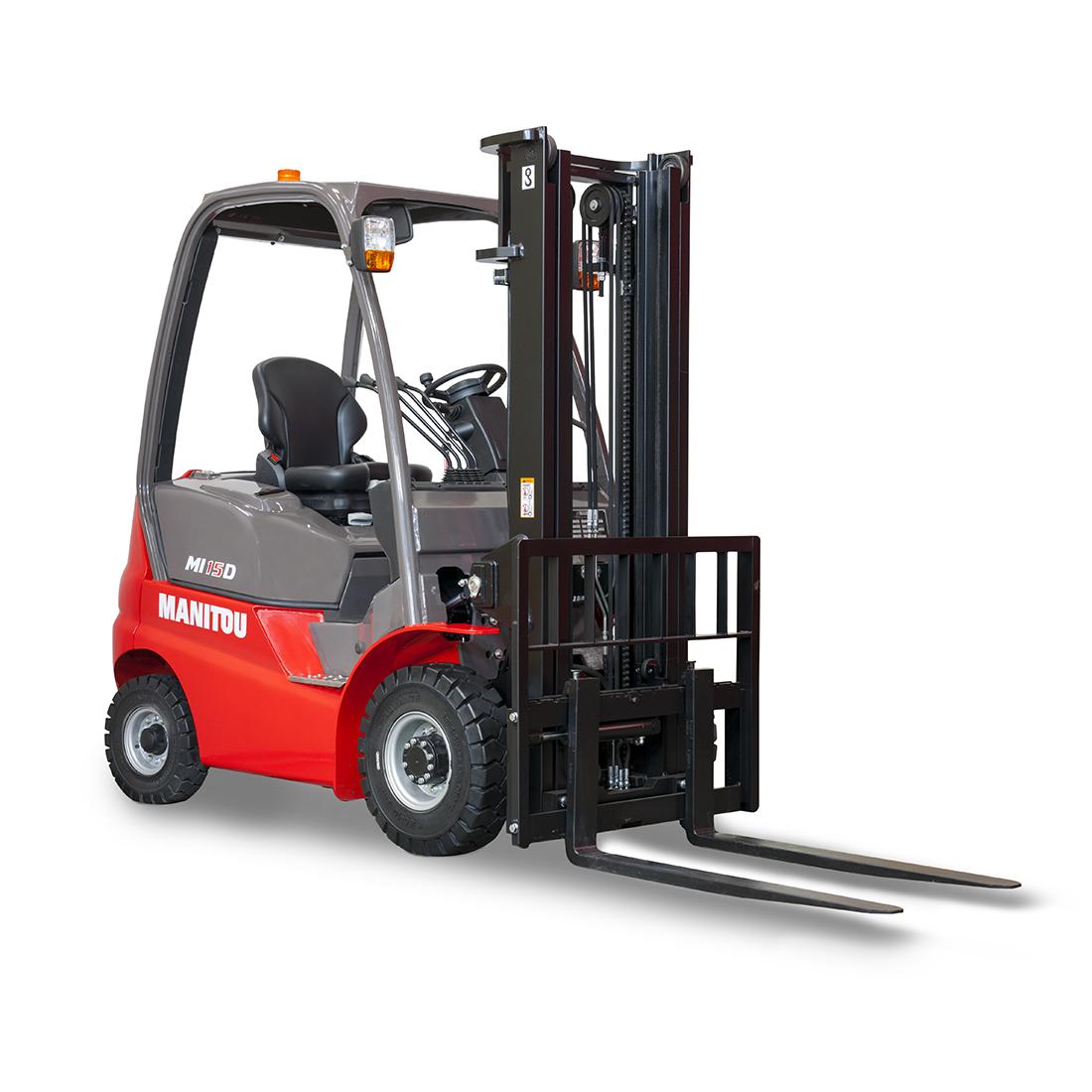 Carretilla elevadora diesel 1800kg de carga - Carretillas de carga ...